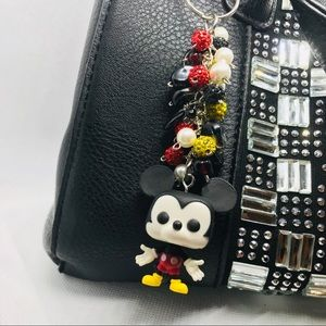 Disney Mickey Mouse handbag charm or keychain fob